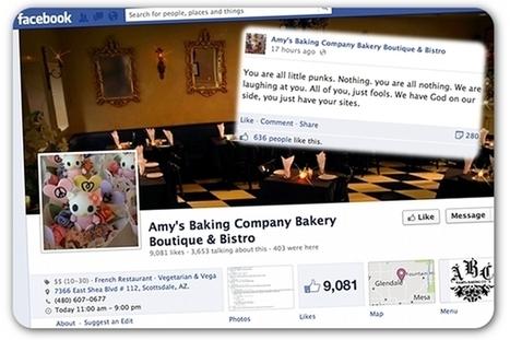 Arizona restaurant owners go ballistic on Facebook | Employee Relations in Public Relations Professions | Scoop.it