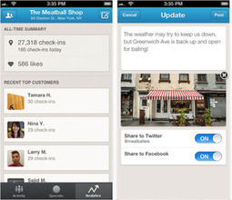 Foursquare launches new mobile app for business owners | PCWorld | Managing Social Media Leapfrawg | Scoop.it