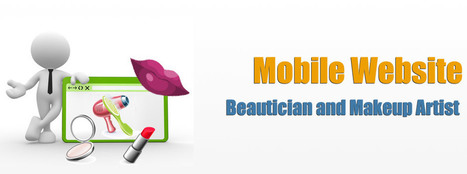 Web Designer for Beautician and Makeup Artist | Mobile Website for Makeup Artist | India Website Designer | Scoop.it