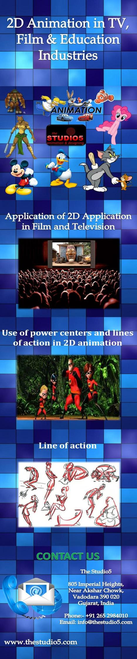 2D Animation in TV, Film & Education Industries | 3D Animation Services | Scoop.it