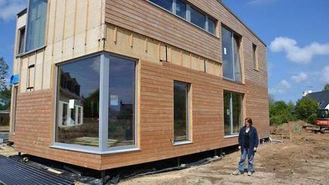 Comment concilier habitat et bien-être naturel : une maison bois bioclimatique | Le flux d'Infogreen.lu | Scoop.it