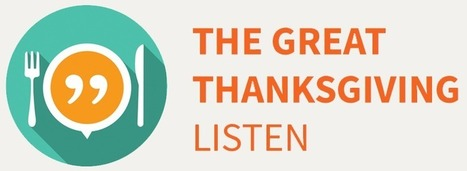 StoryCorps.me | The Great Thanksgiving Listen | Cool Edubytes for Teachers! | Scoop.it