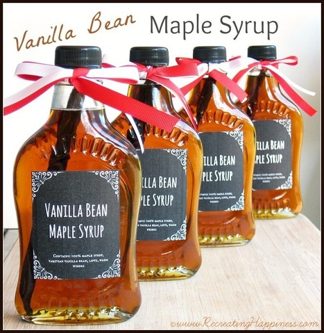 DIY: Vanilla Bean Maple Syrup & Giveaway! | Baking and Cooking | Scoop.it