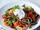 Goat's Cheese and Summer Vegetable Linguine - Reveal | Healthy Eating - Recipes, Food News | Scoop.it