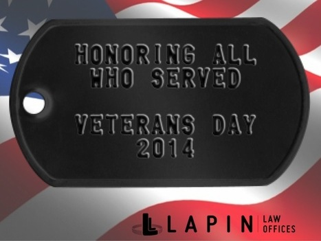 Veterans Day 2014 | Lapin Law Offices | Scoop.it
