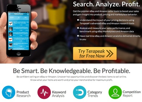 Terapeak: premier eBay and Amazon seller tools to boost your sales. | Marketing_me | Scoop.it