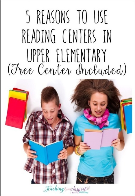 5 Reasons to Use Reading Centers in Upper Elementary (Planning Presents) - Teaching to Inspire with Jennifer Findley | Around L-ICT | Scoop.it