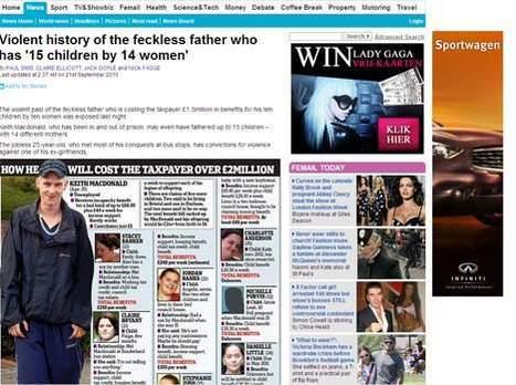 25 ans et père de 15 enfants de 14 femmes différentes | Mais n'importe quoi ! | Scoop.it