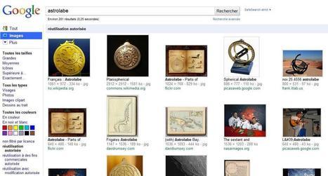 Chercher et utiliser une image libre de droits | L'atelier de l'astrolabe | E-apprentissage | Scoop.it
