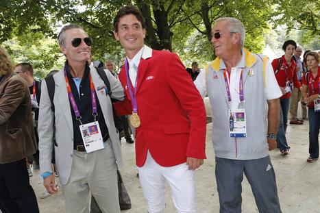 Steve Guerdat fête son titre en famille | www.lematin.ch | Sports équestres | Scoop.it