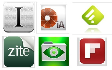 My favorite iPad apps for reading « Education, Technology & Business   HSIE ITC   Scoop.it