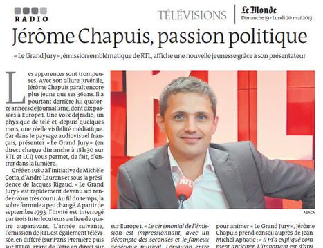 Jérôme Chapuis (73e promo ESJ), passion politique   DocPresseESJ   Scoop.it