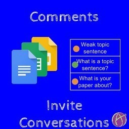 Comments Invite Conversations - Teacher Tech | Keeping up with Ed Tech | Scoop.it