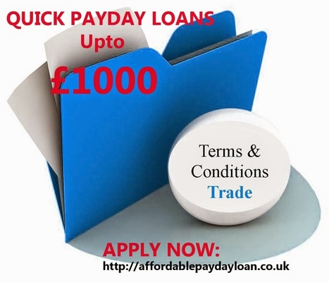 Quick Payday loans upto £1000 | Bad credit payday loans UK | Long term payday Loan | Scoop.it