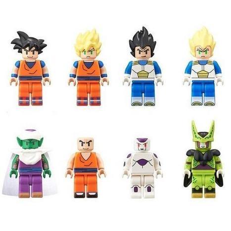 Bandai lanzará figuras LEGO de Dragon Ball | Noticias Anime [es] | Scoop.it