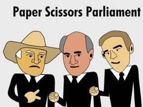 Paper Scissors Parliament | Humor | Scoop.it