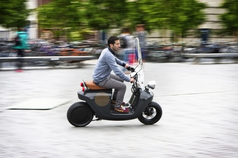 The greenest scooter ever ! This e-scooter is made from plants, seriously (WAARMAKERS » Be.e) | Les éco-activités dans le monde | Scoop.it