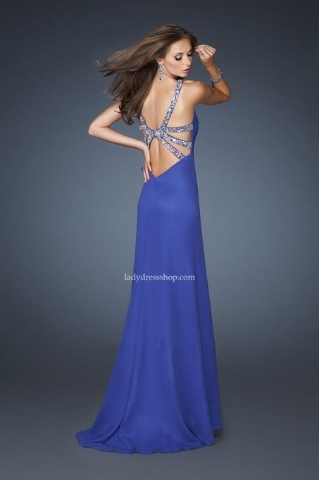 Royal Blue La Femme 18956 Side Split Long Prom Dresses Popular [La Femme 18956] - $176.00 : Ladys Dresses | Dresses Cheap for Lady | prom dress | Scoop.it