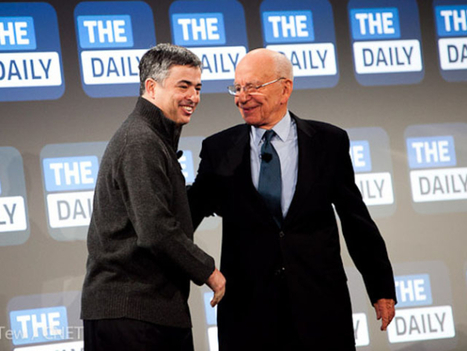 News Corp. debates giving up 'digital savior,' The Daily | Trends Watching | Scoop.it
