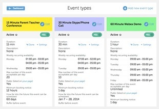 Calendly – Scheduling appointments and meetings is super easy with Calendly.