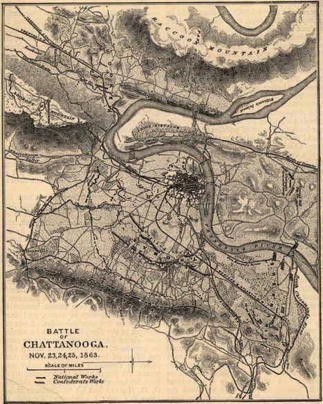Battle of Chattanooga | The Civil War | Scoop.it