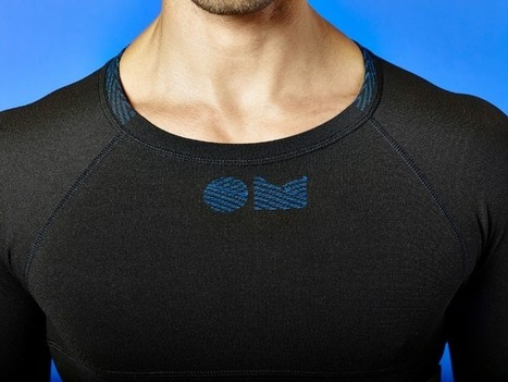 OMsignal Opens Pre-Orders For Smart Shirts That Track Activity, Fitness And Stress | Fashion Technology Designers & Startups | Scoop.it