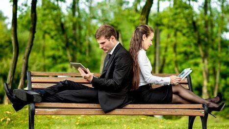 La lecture numérique s'impose chez les cadres | Orangeade | Scoop.it