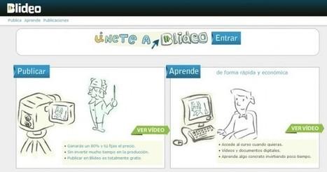 blideo – Conecta autores con alumnos utilizando el acceso a vídeos y otros contenidos | Pedalogica: educación y TIC | Scoop.it