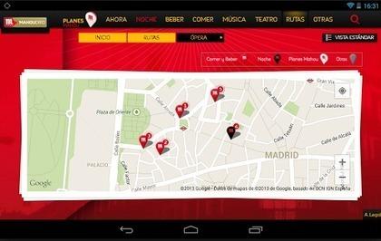 Nueva app para disfrutar del ocio de la capital | rutas por madrid | Scoop.it