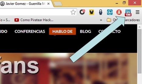 Mejores extensiones y plugins para Linkedin de Chrome (actualizado) - Javier Gomez - Guerrilla Social Media Murcia | Aimaro 3.0 | Scoop.it