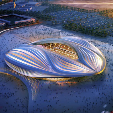 Zaha Hadid unveils design for Qatar 2022 World Cup stadium | Quatar | Scoop.it