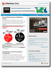 Free Newsletter - Articles, Charts | eMarketer Daily Newsletter | Secondary Research | Scoop.it