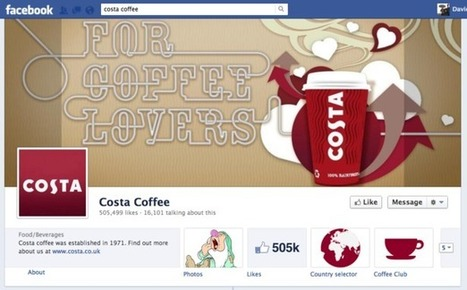 Costa's Facebook app and content strategy doubles its 'likes' in Q1 | Forward Thinkers | Scoop.it