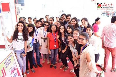 Arch's Fashion Design Students visited India Industrial Fair, Jaipur | Fashion Designing Courses | Scoop.it