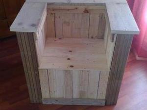 Fauteuil Cube en palette bois 100% recup | Le coin des bricoleurs | Best of coin des bricoleurs | Scoop.it