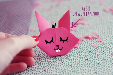 Fais le toi meme : des lapins en origami   un peu de détente   Scoop.it