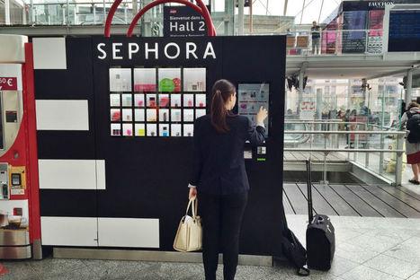 Le premier distributeur automatique Sephora en test à Gare de Lyon | Beauté & Cosmétiques | Scoop.it