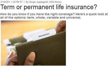 """Going """"Term or Perm"""" through A Reputable Brandon Insurance Agency 