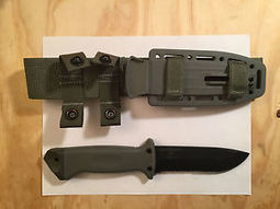Gerber LMF II Infantry Fixed Knife Green With Sheath 22-01626 | Survival Knives by Edge Survival Knives.com | Scoop.it