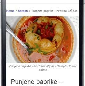 Najbolji recepti na vašem mobilnom telefonu – Android aplikacija - Recepti i Kuvar online | Recepti i Kuvar | Scoop.it