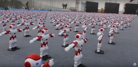 VIDEO. Record du monde de danse synchronisée avec plus de 1000 robots | Veille & Culture numérique | Scoop.it