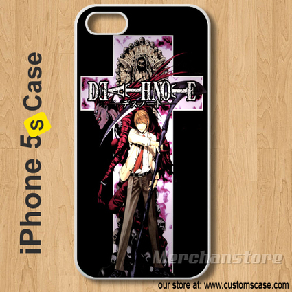 Death Note Custom iPhone 5s Case Cover | Merchanstore - Accessories on ArtFire | Custom iPhone 5s Case Cover | Scoop.it
