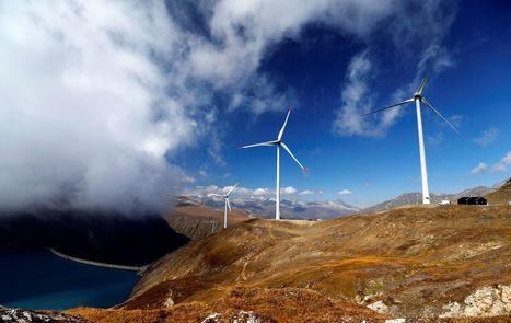 EN IMAGES. La plus haute ferme éolienne d'Europe est en Suisse | Energies Renouvelables | Scoop.it