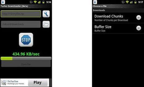 Turbo Downloader, un acelerador de descargas para tu dispositivo Android | Pedalogica: educación y TIC | Scoop.it