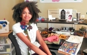 Kidpreneur Maya Penn on Starting Up and Giving Back | MeghaSuccess - Strategies For Passionate Business Owners | Scoop.it