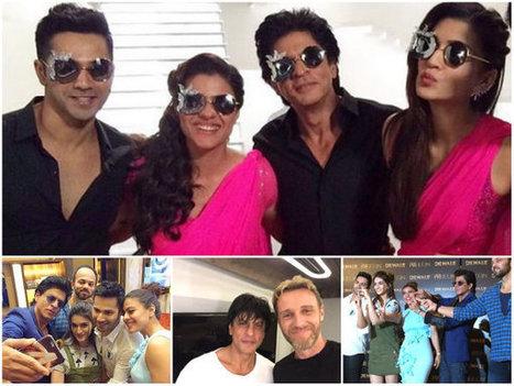 Goofy Yet Cute! Shahrukh-Kajol-Varun-Kriti In Dilwale's Third Song 'Tukur Tukur' [PICS] | Celebrity Entertainment News | Scoop.it