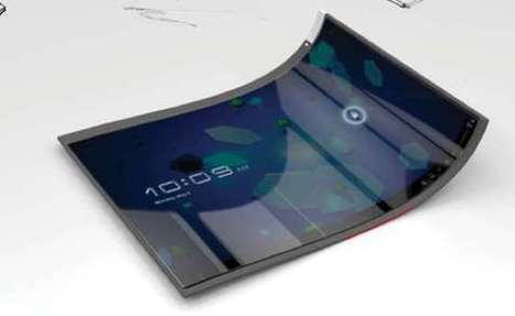 Futuristic Furling Tablets | what might be  the five most important technologies in the next 5 to 10 years? | Scoop.it