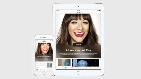 Apple's News App Takes Aim at Facebook | WIRED | Social media news | Scoop.it