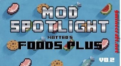 Matted's Foods Plus Mod 1.6.4/1.6.2 | Minecraft 1.7.4/1.7.2 | reneto | Scoop.it