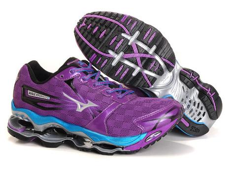 Mizuno Wave Prophecy 2 Womens Running Shoes Purple Blue.jpg (750x550 pixels)   fashionshoes   Scoop.it